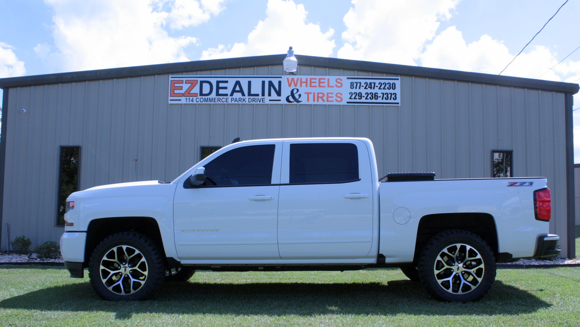 Riding in Style with new EZDealin Wheels and Tires