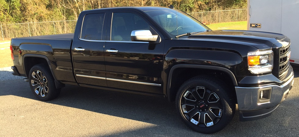 GMC Black with Chrome Inserts