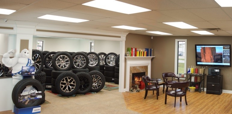 EZDealin Wheels and Tires Showroom